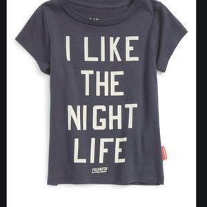 PREFERSH 'I Like the Night Life' Graphic T-Shirt